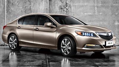Состоялся китайский дебют спортивного гибрида Acura RLX