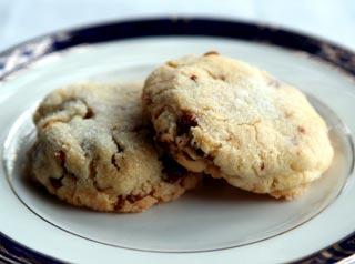 Рецепт: Масляное печенье с орехом пекан